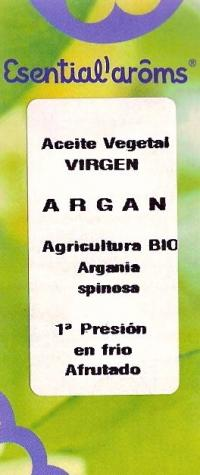 ACEITE ARGAN VEGETAL VIRGEN ECO 100ML ESENTIA *ENC