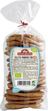 GALLETAS MARINERAS CON CHIA 140 G *ENC