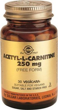 ACETIL/L-CARNITINA 250 MG (30)*ENC