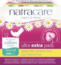 COMPRESA ULTRA EXTRA NORMAL C/ALAS 12U NATRACARE