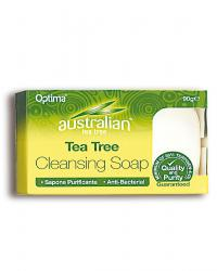TEA TREE JABON PASTILLA 90GRS AUSTRALIANO